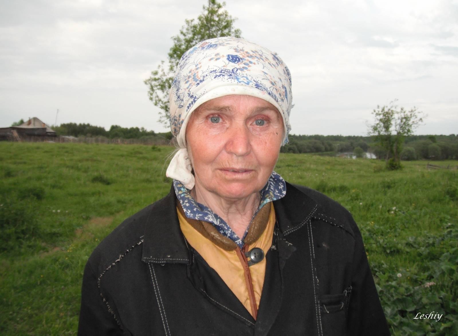 Фото полных деревенских женщин